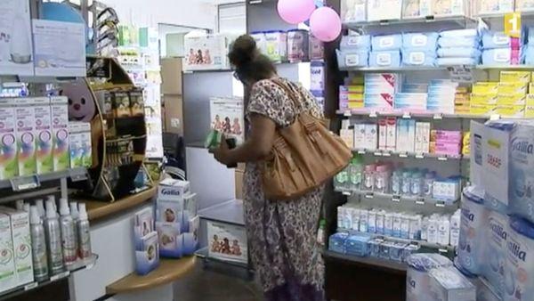 Capture pharmacie lait infantile décembre 2017