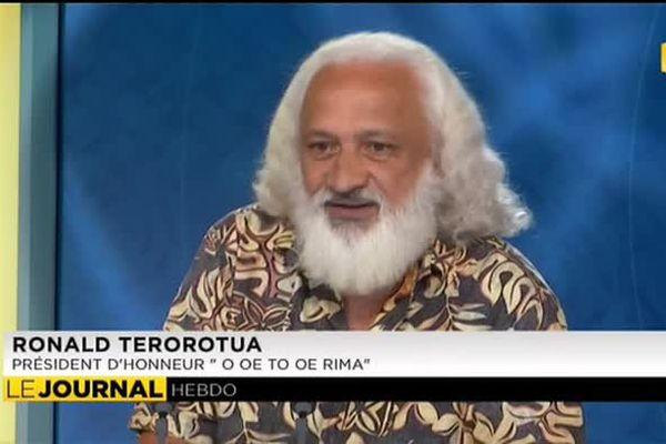 L'invité du journal : Ronald Terorotua