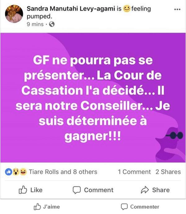 Post Sandra Lévy Agami