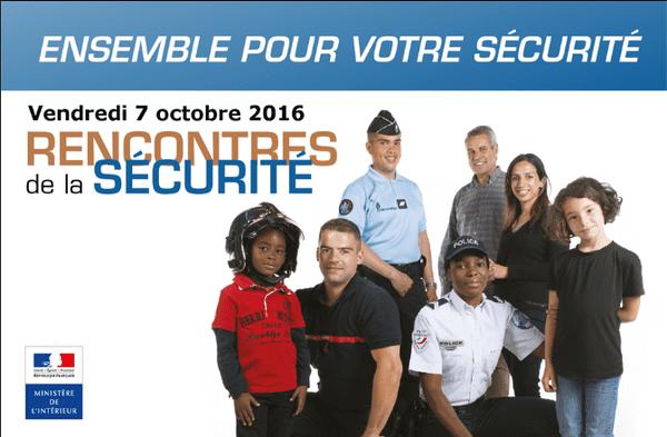 affiche des rencontres de la sécurité 2016