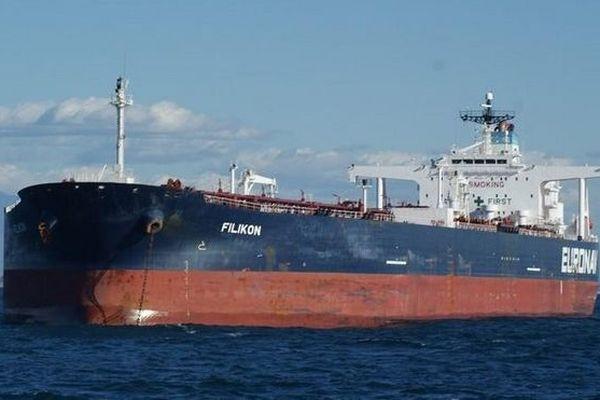 pétrolier Libéria Filikon suvetage marin grec 011218