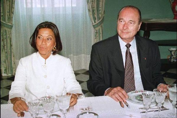 Avec Margie Sudre 1997