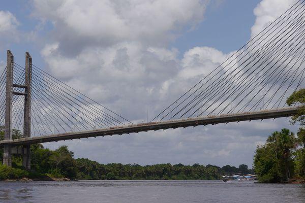 Le pont de l'Oyapock