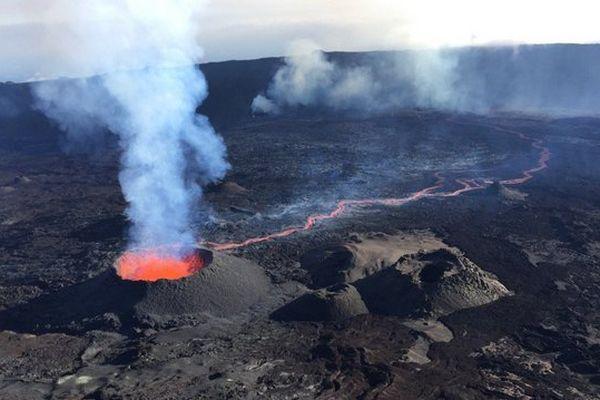 Volcan 2ème éruption oct 2015