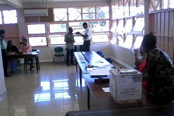 Bureau de vote de Régina