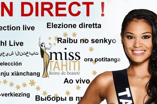 Comment regarder l'élection de Miss Tahiti 2015 dans le monde ?