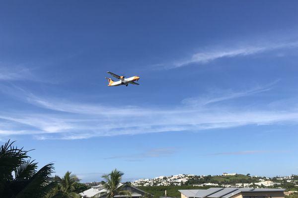 Aircalédonie en vol