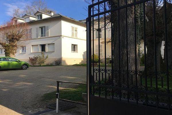 Entrée de l'ancien centre d'adaptation à la vie métropolitaine à Crouy-sur-Ourcq
