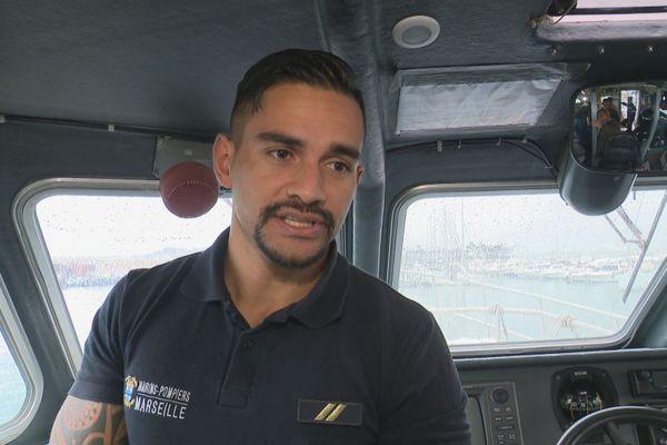 Kevin marin pompier