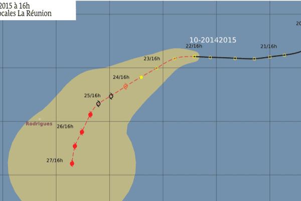 trajectoire cyclone 02 2015