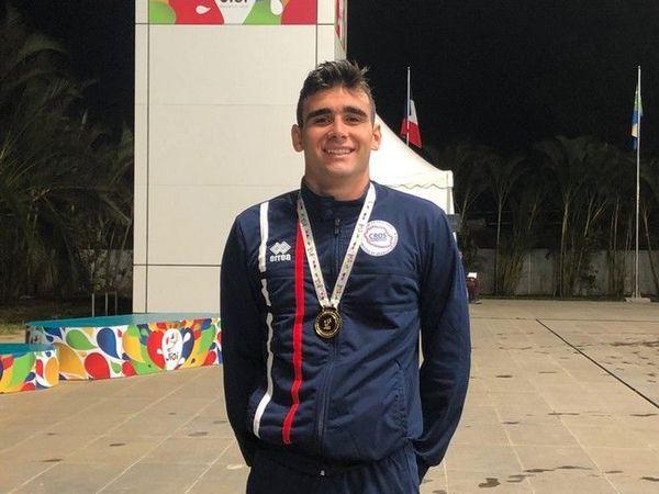 JIOI 2019 - Natation : médaille d'or Millian Boucher au 100m brasse 210719