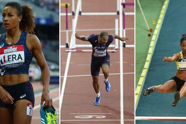 Montage championnat d'europe athlétisme