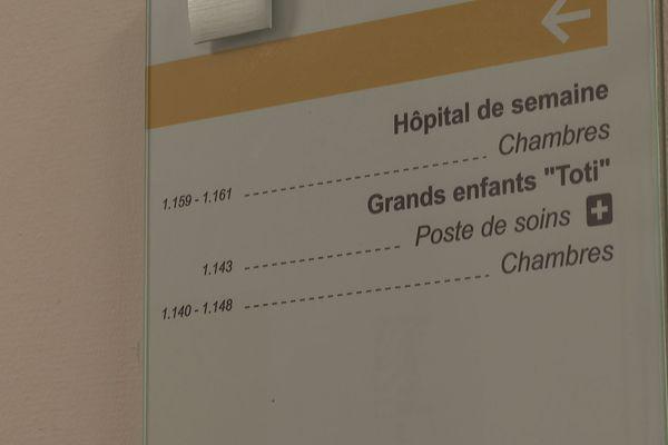 Service pédiatrique CHC