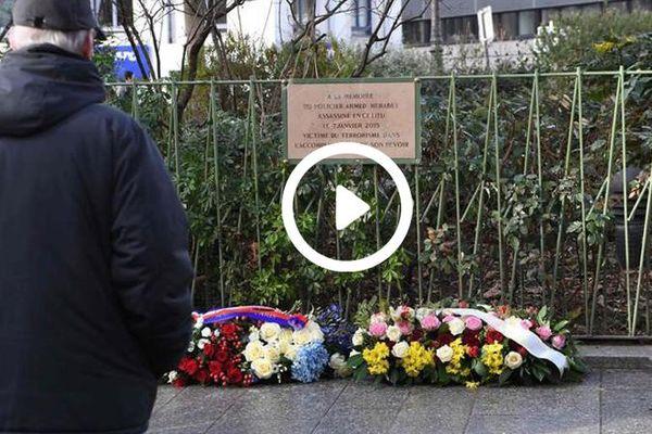 hommage attentat 2015