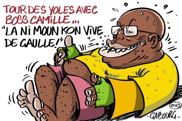 Caricature de Camille Alexandre