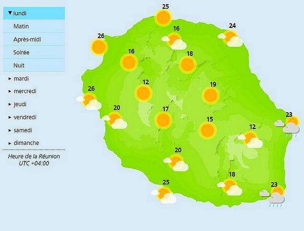 Carte météo 20 septembre 2021