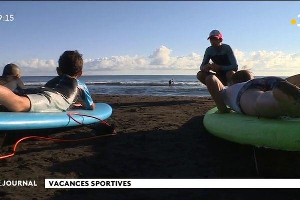 A l'école de l'apprentissage du surf