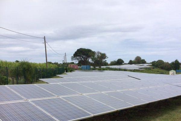 énergie solaire à Marie-Galante