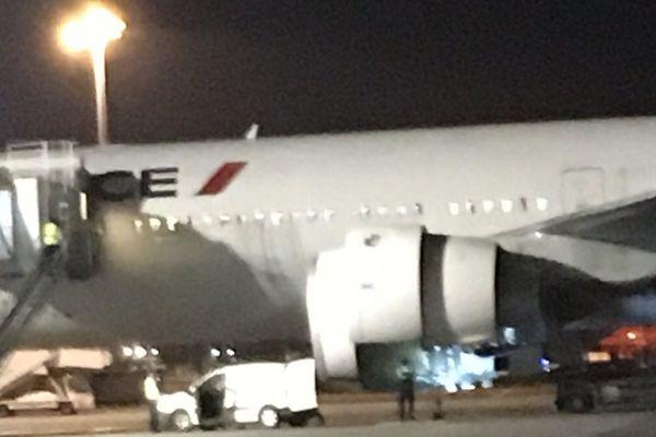 Avion Air France en panne