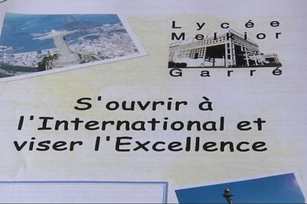 Section excellence au lycée Melkior Garré