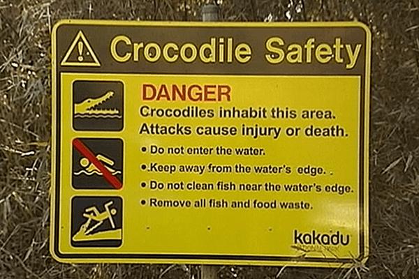 un sexagénaire dévoré par un crocodile