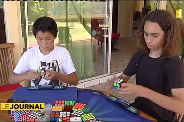 Des cubes... des petits cubes... et un record !