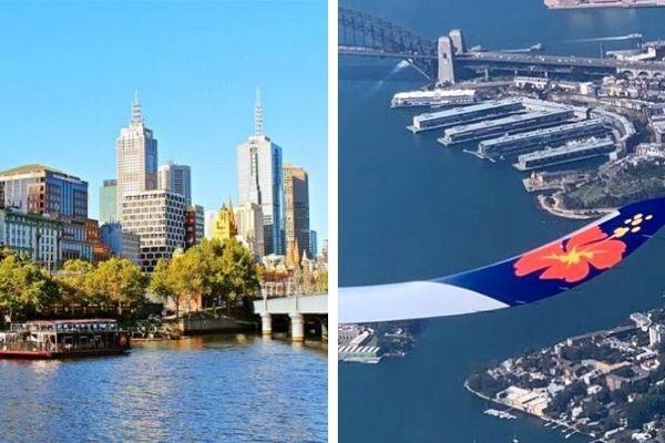 Coronavirus, mosaïque entre Melbourne et Sydney