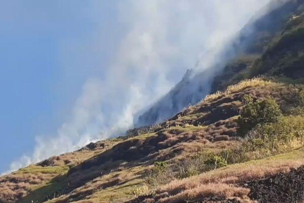 incendie à Fatu Hiva