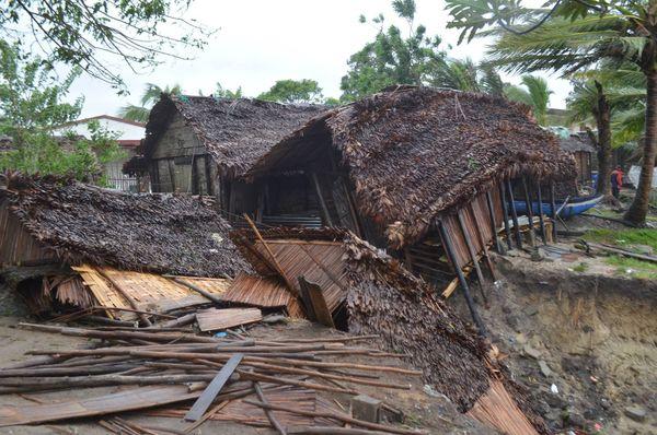 Eliakim maison détruite Madagascar