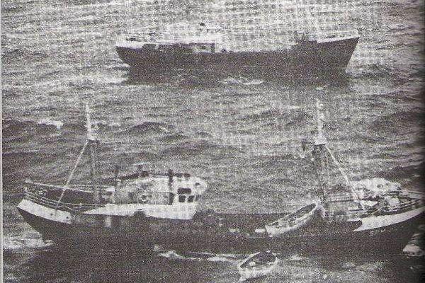 Opération de recherche du Douala, 21 décembre 1963