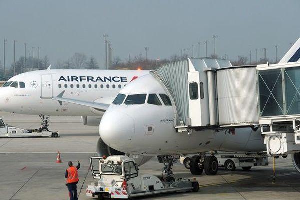Air France Haïtienne cachée dans un sac