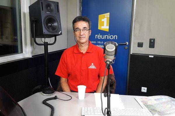Philippe Alexandrino, président de la Ligue réunionnaise de handball