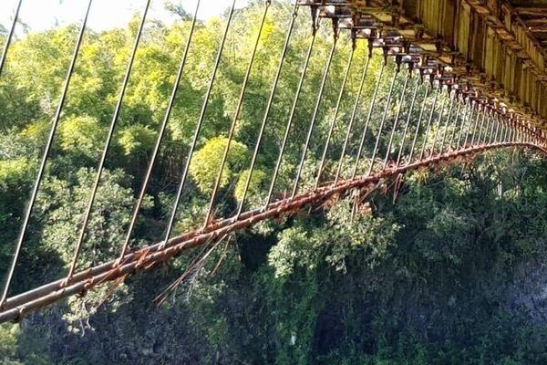 Pont suspendu de la Rivière de l'Est - 5