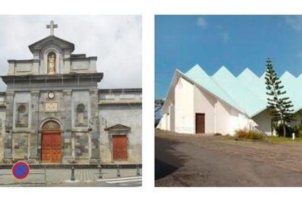 église du Carmel et chapelle Sainte Thérèse à Basse-Terre