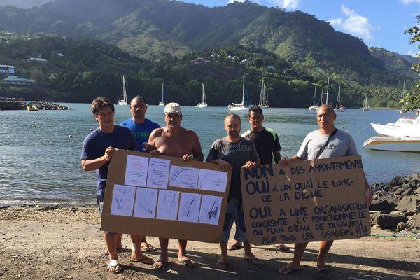Les pêcheurs de Hiva Oa en colère