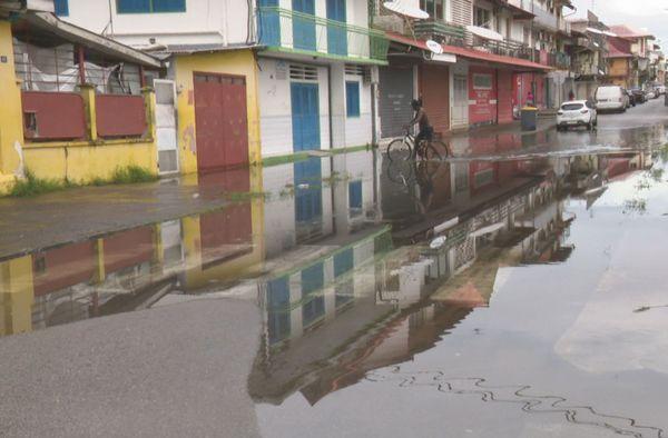 Cayenne et les inondations