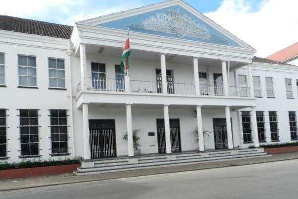 La banque centrale du Surinam
