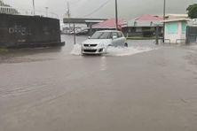 De fortes pluies se sont abattues sur les îles de la Société samedi 29 février 2020.