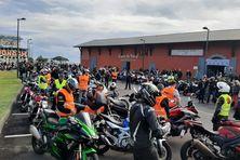 Manifestation des motards contre le contrôle technique