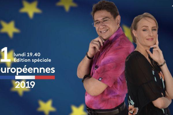 Élections Européennes : débat en direct sur Polynésie la 1ère