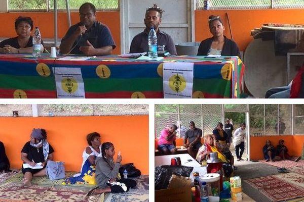 Réunion publique du MNIS à Tindu