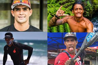 """Quatre tahitiens dans la catégorie """"Men"""""""
