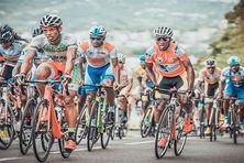 peloton du tour cycliste de Martinique