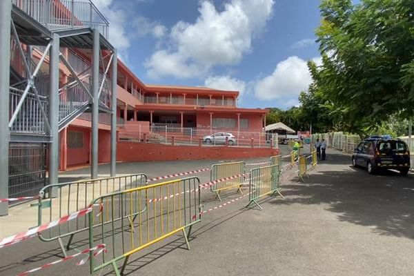 Ecole la Lézarde Petit-Bourg, rentrée après déconfinement