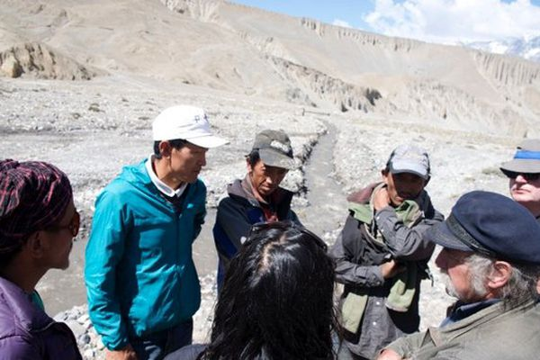 Dhye au Népal rencontre entre l'association et les habitants