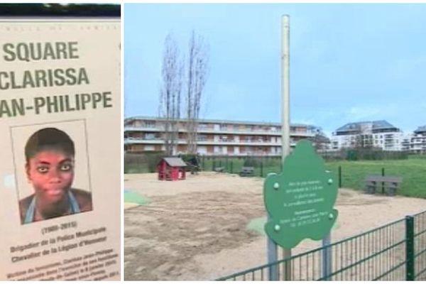 Square clarissa Jean-Philippe Carrières sous poissy