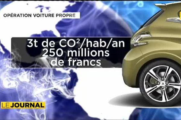 Edouard Fricth lance l'opération « voiture propre »