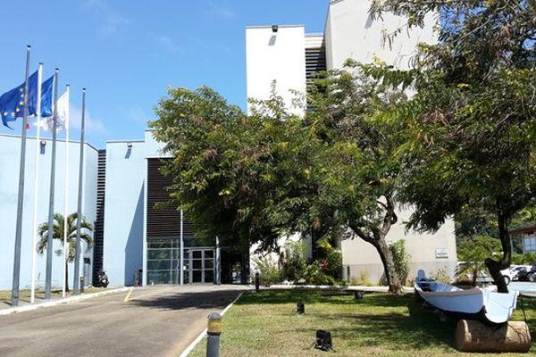 Le siège de la collectivité territoriale de Guyane