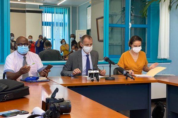Conférence de presse du préfet Alexandre Rochatte - Guadeloupe en Alerte maximale Covid-19