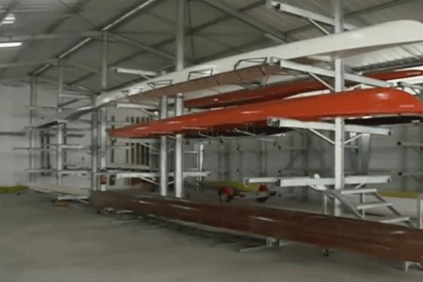 Hangar du centre nautique Terre-Rouge